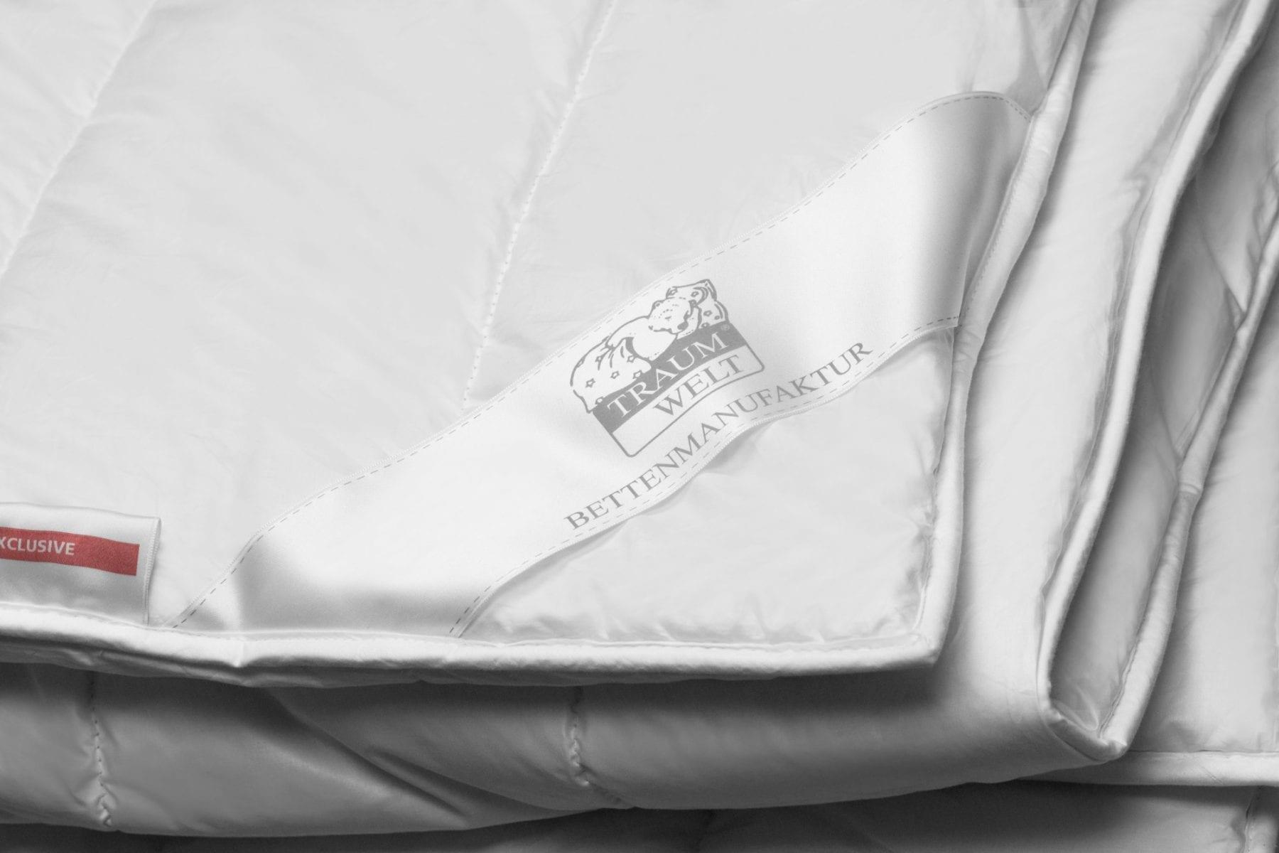 Faser-Bettdecke